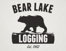 Bear Lake Logging Logo