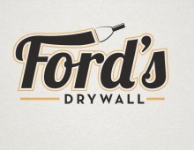 Ford's Drywall Logo
