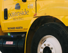 Oceanside Moving Van