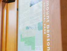 Mt Benson Trailhead Kiosk