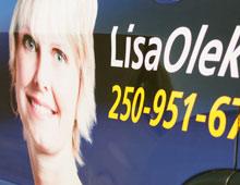Lisa Oleksiuk Vehicle Graphics