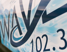 The Wave 102.3 CRV Wrap