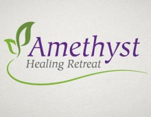 Amethyst Healing Retreat logo