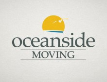 Oceanside Moving logo