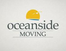 Oceanside Moving logo