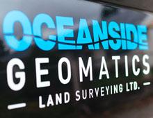 Oceanside Geomatics Vehicle Graphics
