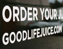 Good Life Juice Sprinter Van