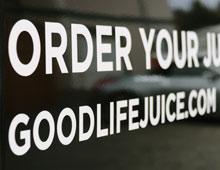 Good Life Juice Sprinter Van