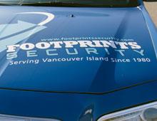 Footprints Security Chrysler 300