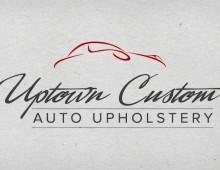 Uptown Custom Upholstery Logo
