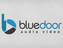 Bluedoor Audio Video Logo