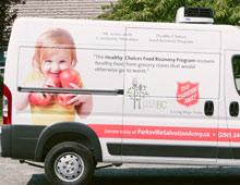 Salvation Army Van